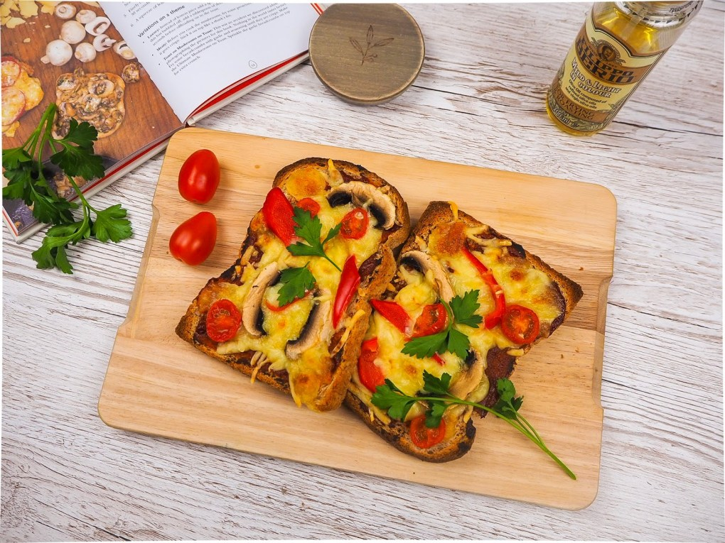 Easy and perfect pizza toast recipe