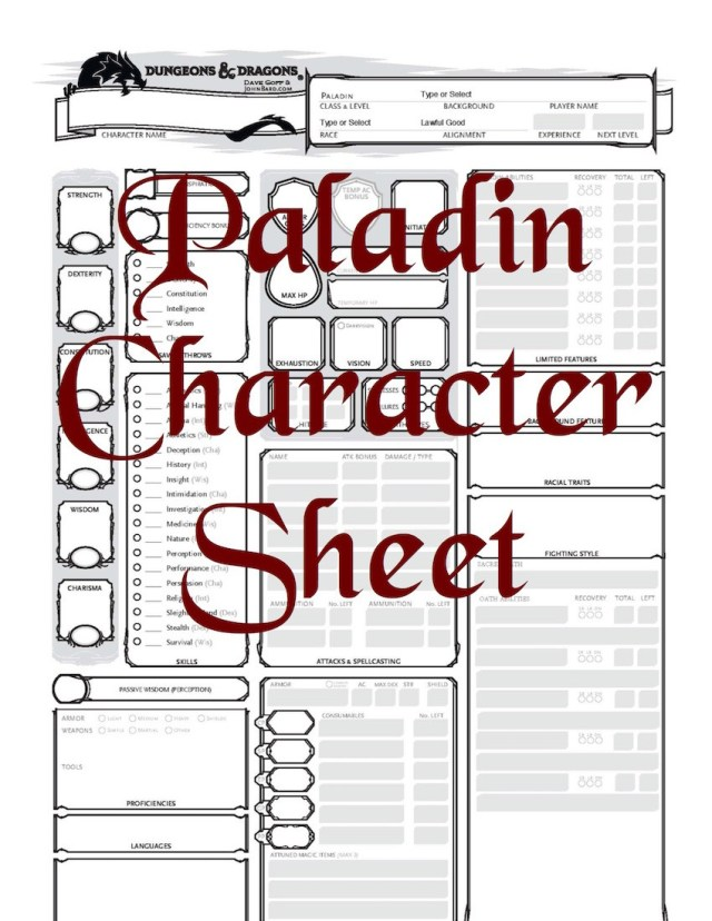 D&D 5E_Paladin_Character_Sheet_(Fillable)_(5E)