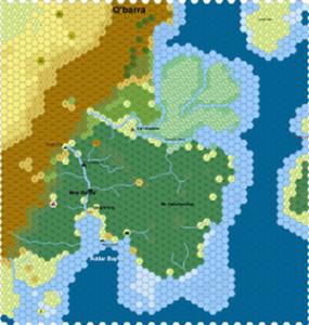 Hexographer Example Map