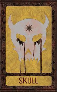 Card image for Deck of Many Things -Skull