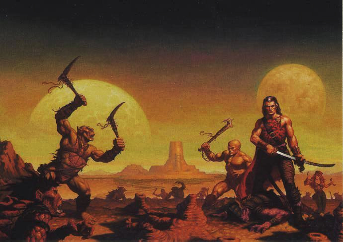 Image result for Dark Sun D&D art