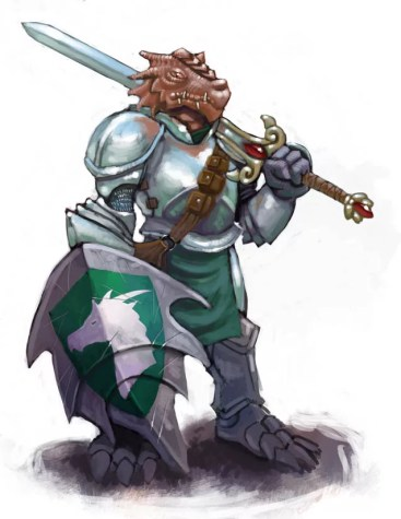 dragonborn paladin reluctant hero