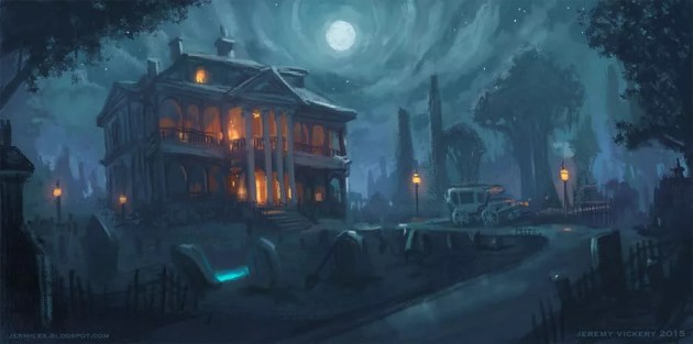 haunted mansion murder mystery dnd 5e