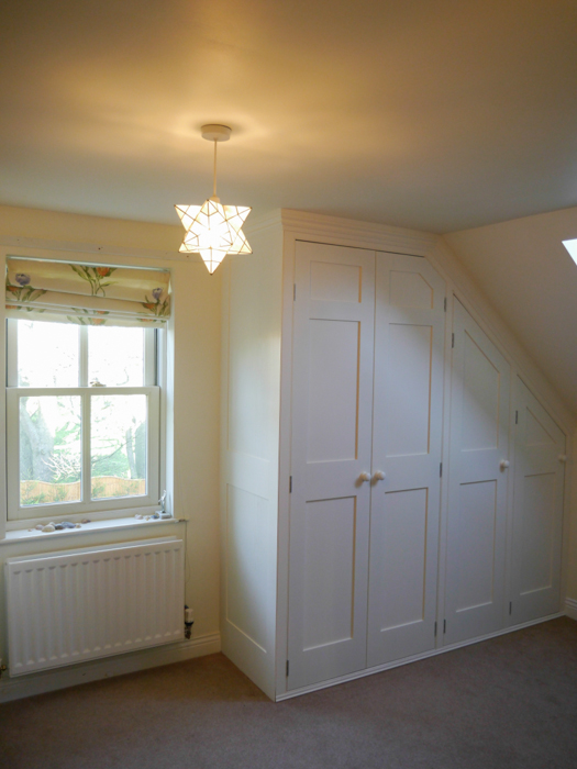 Furniture Attic And Under Eaves Cupboards Dunham