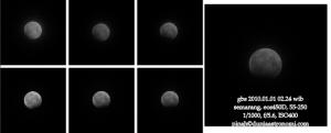 Gerhana Bulan Sebagian 1 Januari 2010