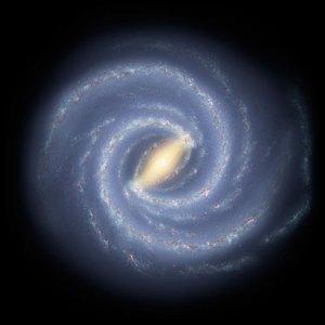 Gambaran Galaksi Bimasakti Terbaru