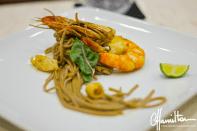 Dinner on luxury yacht Dunia Baru