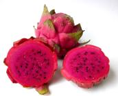 Dragon fruit that's pink inside
