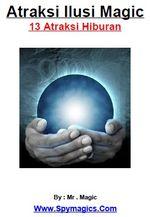 Gambar ebook atraksi ilusi magic