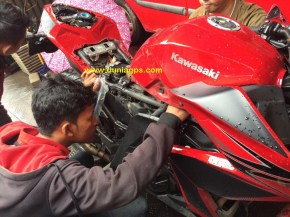 jual gps tracker motor ninja 250