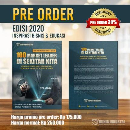 """Buku """"100 Perusahaan Market Leader di Sekitar Kita"""""""