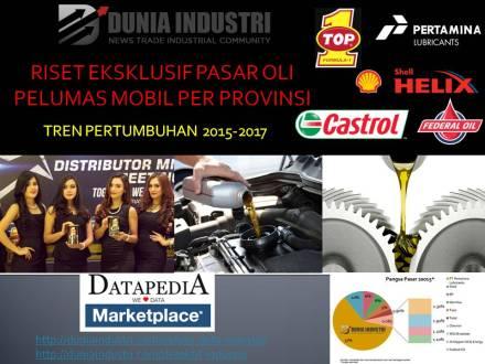 """<span itemprop=""""name"""">Riset Eksklusif Pasar Oli Pelumas Mobil Per Provinsi (Tren Pertumbuhan 2015-2017)</span>"""