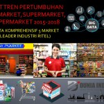 Riset Tren Pertumbuhan Minimarket, Supermarket, Hypermarket 2015-2018 (Data Komprehensif 5 Market Leader Industri Ritel)