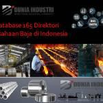 Database 165 Direktori Perusahaan Baja di Indonesia