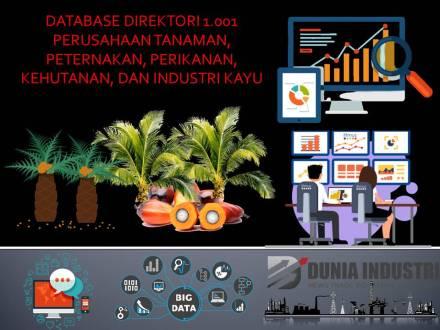 "<span itemprop=""name"">Database Direktori 1.001 Perusahaan Tanaman, Peternakan, Perikanan, Kehutanan, dan Industri Kayu</span>"