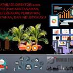 Database Direktori 1.001 Perusahaan Tanaman, Peternakan, Perikanan, Kehutanan, dan Industri Kayu