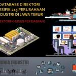 Database Direktori Spesifik 215 Perusahaan Industri di Jawa Timur (Direktori Khusus Per Daerah)