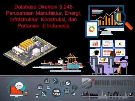 """<span itemprop=""""name"""">Database Direktori 5.248 Perusahaan Manufaktur, Energi, Infrastruktur, Konstruksi, dan Pertanian di Indonesia</span>"""