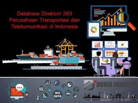 """<span itemprop=""""name"""">Database Direktori 393 Perusahaan Transportasi dan Telekomunikasi di Indonesia</span>"""