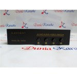 Audio Video Selektor 4 Load Video-Audio Switch S42VA