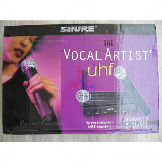 Mic Wireless Shure UT 42 / SM 58