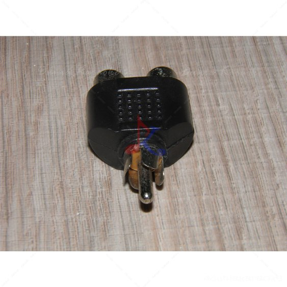 RCA Y Splitter Adapter 1 Male to 2 Female