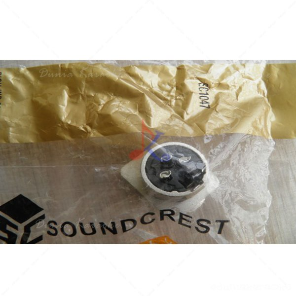 XLR Panel Socket Connector Female Soundcrest SC 1047