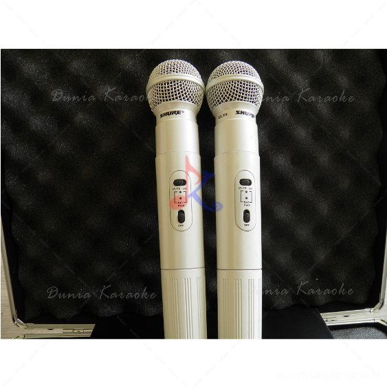 Mic Wireless Shure ULX 9 White