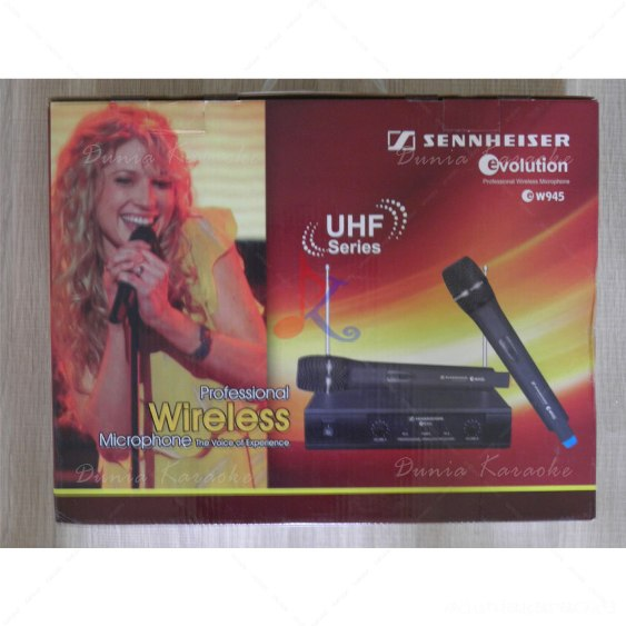 Mic Wireless Sennheiser EW 945