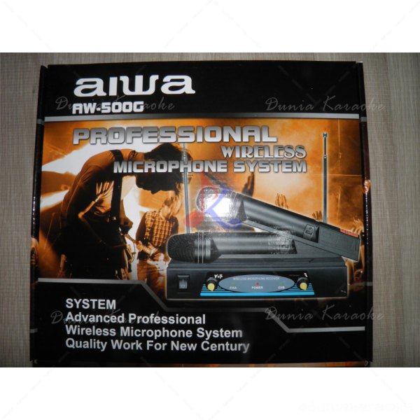 Mic Wireless Aiwa AW 500 G