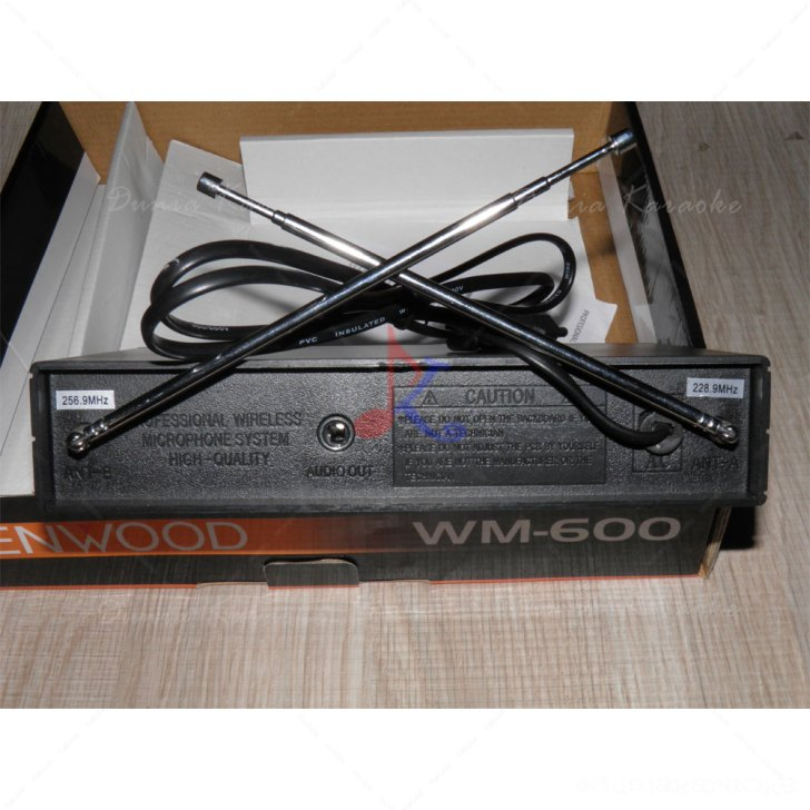 Mic Wireless Kenwood WM 600