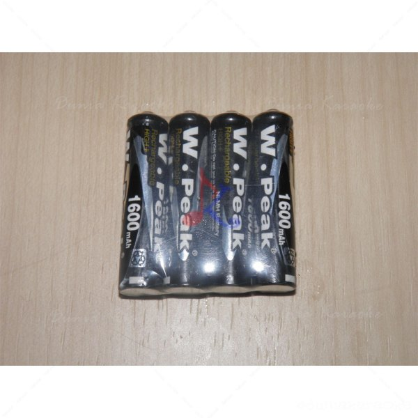 Battery AAA Peak 1600mah Rechargeable