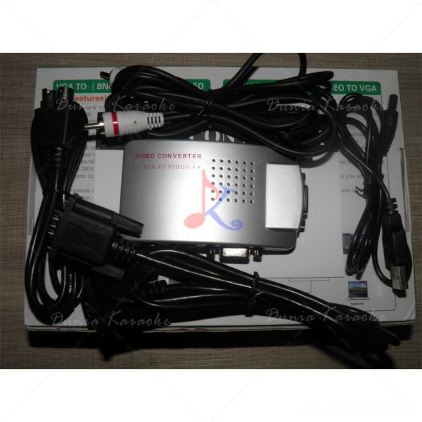 Converter VGA to RCA HWK 058 PC to TV