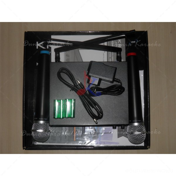 Microphone Wireless Krezt KRU 820 UHF Multi Channel