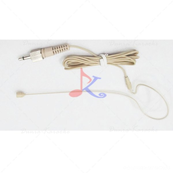 Headset Jack 3,5mm OmniDirectional Microphone with Screw Lock for Wireless Microphone
