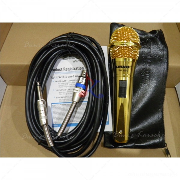 Microphone Kabel Shure PG 69 G Gold Edition