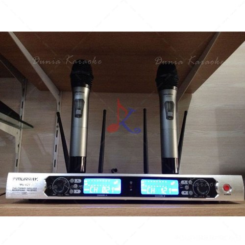 Mic Wireless Murray MU 821 UHF Professional Microphone