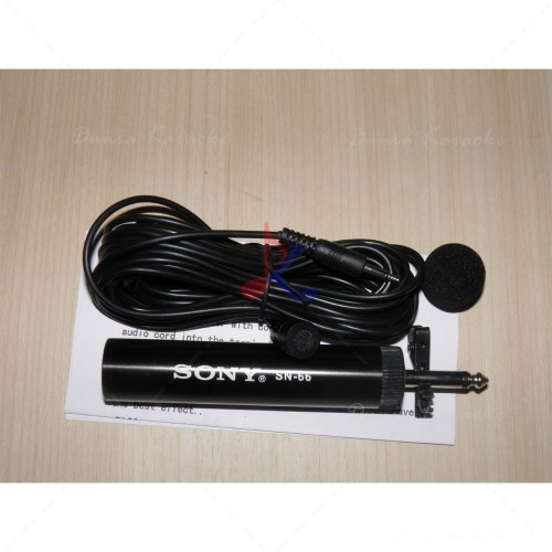 Microphone Condenser Jepit Sony SN-66 Omnidirectional Electret Condenser