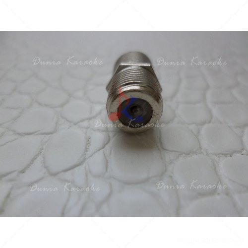 Jack Connector F Type Female to Female Coaxial Barrel Coupler Adaptor