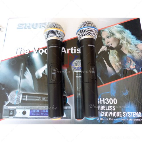 Microphone Wireless Shure SH 300 Professional Wireless System
