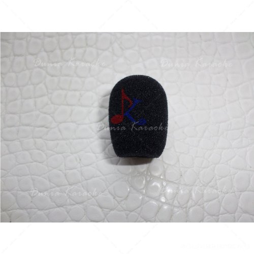Busa Mic 2 Cm Diameter 0,8 Cm Microphone Windscreen Foam Cover