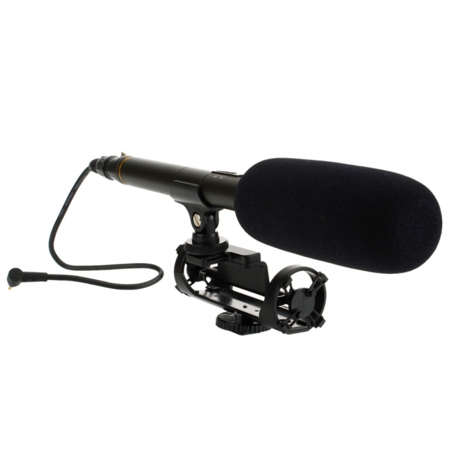 Busa Mic 12 Cm Diameter 1,7 Cm Microphone Windscreen Foam Cover