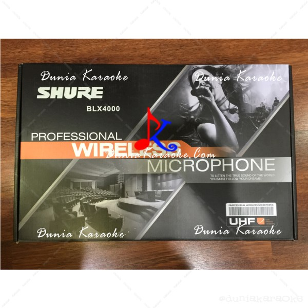 Wireless Condenser Microphone Shure BLX 4000 Conference System (1)
