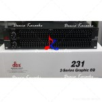 Equalizer DBX 231 Dual 31 Band Profesional Graphic Equalizer