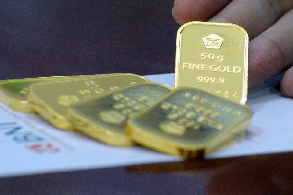 keuntungan investasi emas per tahun