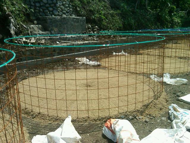 kolam terpal dan rangka