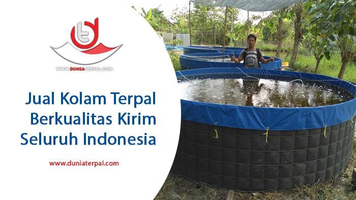 Jual Kolam Terpal Gresik, Surabaya, Lamongan, Tuban, Sidoarjo