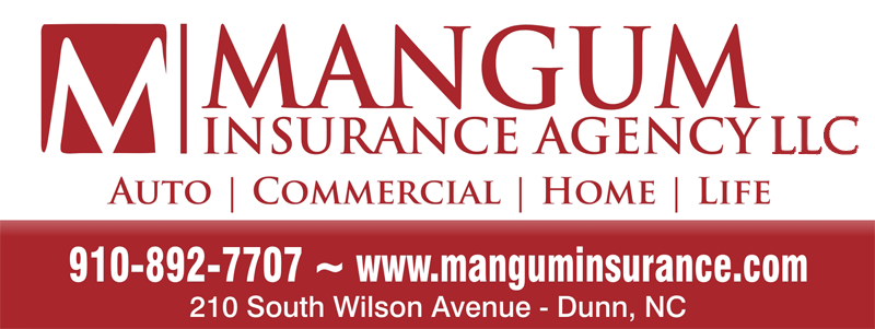 Mangum Insurance Agency, LLC | Auto, Commercial, Home, Life | (910) 892-7707 | Dunn, NC