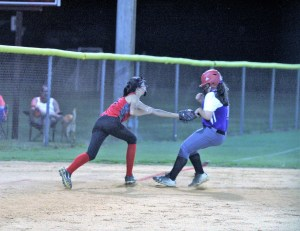 Huge rally moves Erwin 12-U softball to 2-0 in Tar Heel district play