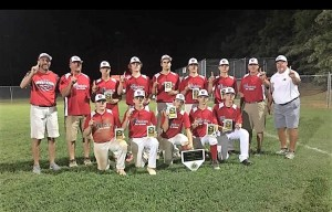 Western wins Tar Heel Junior district baseball